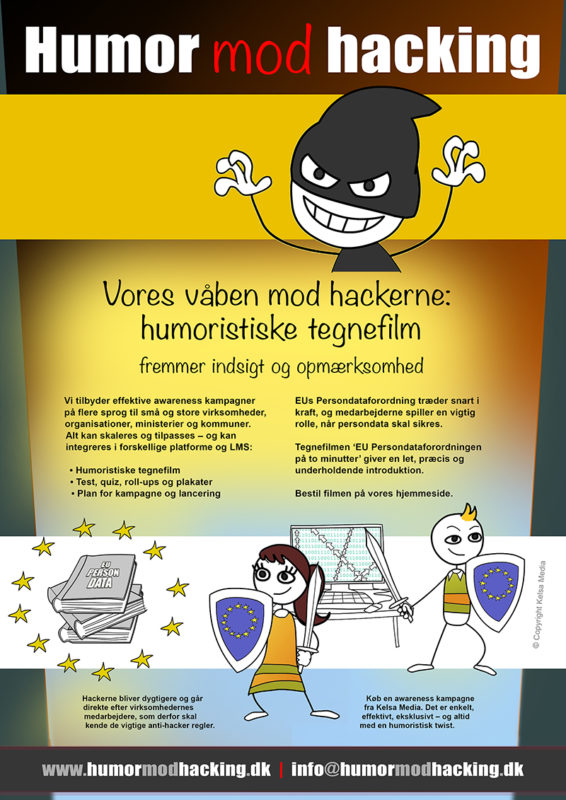 Humor mod hacking i Jyllands-Postens tillæg