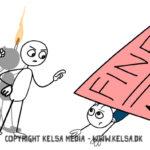 Humor mod hacking kampagne i 3F