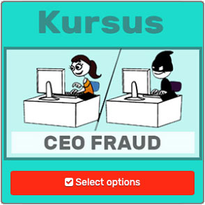 CEO fraud kursus og film fra Humor mod hacking