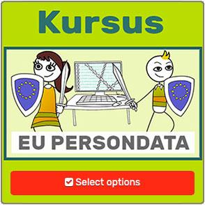 Persondata og GDPR kursus og film fra Humor mod hacking