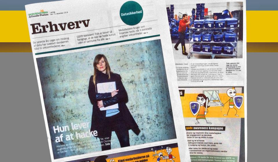 Jyllands-Posten tillæg om datasikkerhed